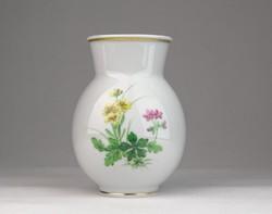 0U474 Antik kardos Meisseni porcelán váza