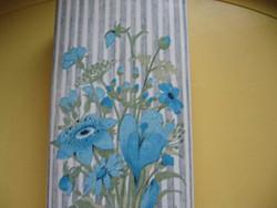 Kerámia virágos, cicás szignált párologtató radiátorra