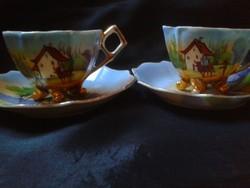 Porcelán csészék párban.2 db