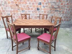 Étkezőasztal székekkel,konyha asztal