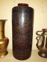 Pirogránit váza - Zsolnay