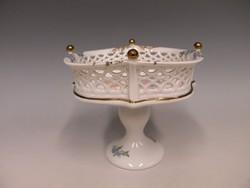 Wallendorf porcelán, bonbonier,
