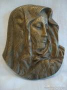 Réz Mária plakett