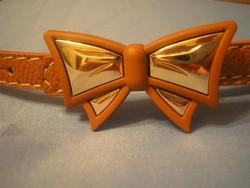 N5 2db Arany színű masni díszítéssel öv ajándékozhatóan eladó