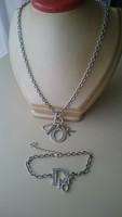 Ezüst Christian Dior nyaklánc és karkötő. (925-ös ezüst!!)