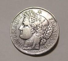 5 frank 1849 A