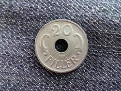 Gyönyörű lyukas 20 fillér 1944 /id3977/