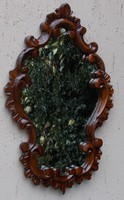 Neobarokk chippendale stílusú fa keretes tükör