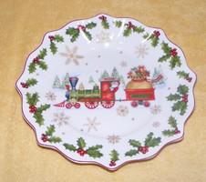 Villeroy & Boch karácsonyi porcelán kínáló tál
