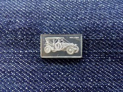 Franklin Lozier 1899 autós ezüst lapka
