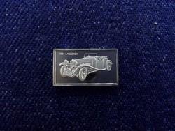 Lagonda 1934 autós ezüst lapka /id4341/