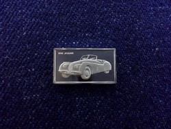 Jaguar 1948 autós ezüst lapka