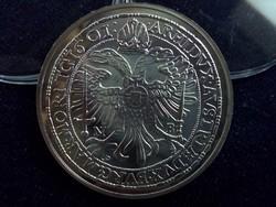 Rudolf tallérja 1601 - Magyar tallérok utánveretben ezüst - Érem Művészeti Intézet