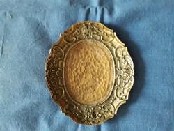 Barokkos,bronz tálka