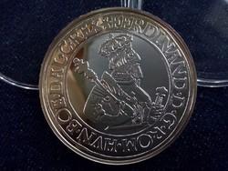 I. Ferdinánd tallérja 1556 - Magyar tallérok utánveretben ezüst - Érem Művészeti Intézet