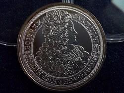 III. Károly tallérja 1715 - Magyar tallérok utánveretben  ezüst - Érem Művészeti Intézet