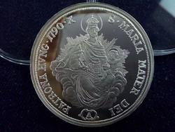 II. Lipót tallérja 1790 - Magyar tallérok utánveretben ezüst - Érem Művészeti Intézet