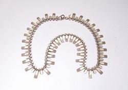 Angol ezüst nyaklánc.