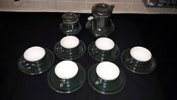 Kerámia 6 db-os kávés készlet,egyedi színben...