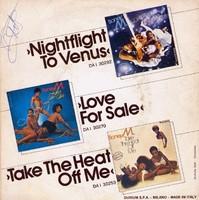 A Boney M. együttes Mary's Boy Child Oh My Lord c. dedikált kislemeze eladó