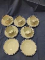 Alföldi porcelán kávés készlet