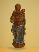 Régi falidísz:Mária a kisdeddel.