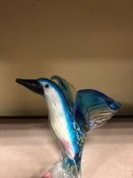 Murano féle üveg dísz