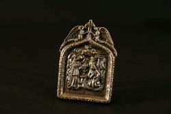 Ezüst Házi Oltár 57g Angyali Üdvözlet Jézus születése PV Pénzverde 800-as