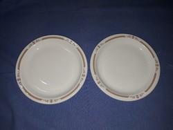 Alföldi porcelán tányérok (2 db)