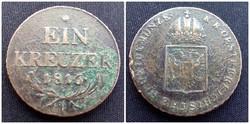 1 krajcár 1816 B