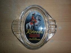 régi reklám üveg hamutál