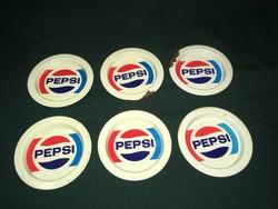 6 db-os PEPSI lemez poháralátét