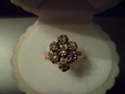 Antik gyűrű / gyémánt