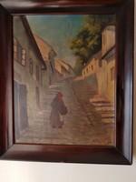 LEÁRAZTAM!  Odry ( Ódry ) József  (1907- ) festmény, műalkotás