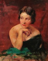 VIGH BERTALAN (1890-1946): Női portré