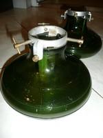 1+1 Antik üvegből készült, vízzel tölthető svájci karácsonyfa talp
