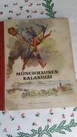 Münchhausen kalandjai könyv eladó!