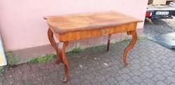 Biedermeier iróasztal asztal