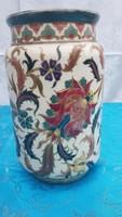 Eredeti, antik ZSOLNAY perzsa mintás váza 1870C
