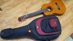 Klasszikus gitár + tok