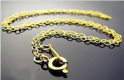 Aranyozott nyaklánc ABÜL 04 42