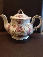 Zsolnay pillangós teáskanna fedővel 1,5 literes, hibátlan, új!