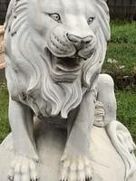 Uralkodó Márvány oroszlánpár