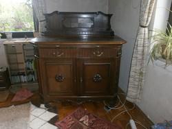 Kómód Tálaló szekrény.(Antik)