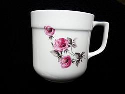 Retró alföldi rózsás kakaós csésze