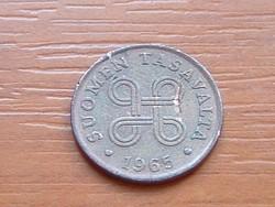 FINNORSZÁG 1 PENNIA 1965