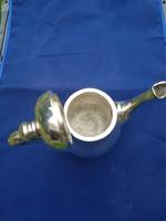Ezüst kávéskanna- kiöntő 392 g.