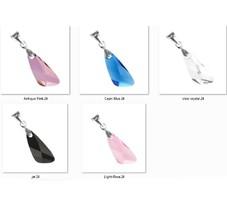Swarovski kristály medál -23mm-es wing (angyal szárny) több színben