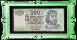 """200 Forint 2003 """" FB """"  UNC"""