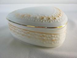 Hollóházi porcelán retro bonbonier